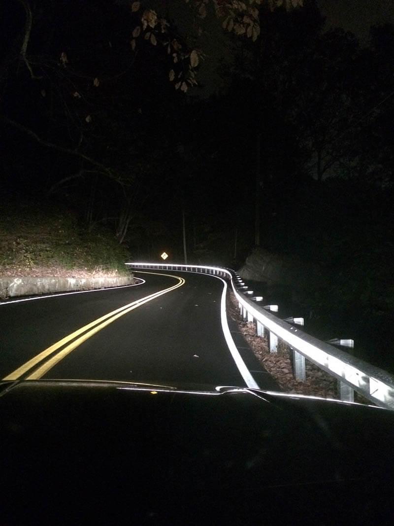 Enhanced Linear Delineation Eld Guardrail Reflectors Pexco